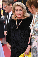 CANNES, FRANCE. July 10, 2021: Catherine Deneuve at the premiere of Peaceful (De Son Vivant) at the 74th Festival de Cannes.<br /> Picture: Paul Smith / Featureflash
