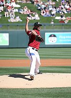 Madison Bumgarner - Arizona Diamondbacks 2020 spring training (Bill Mitchell)
