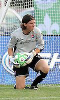 Jenni Branam..Saint Louis Athletica defeated Sky Blue F.C 1-0, at Anheuser-Busch Soccer Park, Fenton, MO.