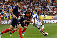 Harrison, NJ - Friday July 07, 2017: Oscar Boniek García during a 2017 CONCACAF Gold Cup Group A match between the men's national teams of Honduras (HON) vs Costa Rica (CRC) at Red Bull Arena.