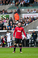 Saturday 17 August 2013<br /> <br /> Pictured: Wayne Rooney of Manchester United<br /> <br /> Re: Barclays Premier League Swansea City v Manchester United at the Liberty Stadium, Swansea, Wales