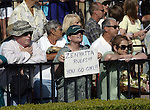 Aug. 8, 2009.Fans come out to see Zenyatta ridden by Mike Smith, win the Clement l. Hirsch Stakes at Del Mar Throughbred Club, Del Mar, CA