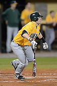 Siena Saints infielder Brian Fay (28) during the season opening game against the Central Florida Knights at Jay Bergman Field on February 14, 2014 in Orlando, Florida.  UCF defeated Siena 8-1.  (Copyright Mike Janes Photography)