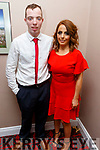 Diarmuid Lynch and Julie Deane winner of the Public Vote at the Ballymac Strictly Love dancing in the Ballygarry House Hotel on Saturday.