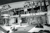 1981 FILE PHOTO<br /> New York City<br /> Rebuilding of Studio 54<br /> Photo by Adam Scull-PHOTOlink.net