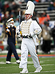 The Notre Dame Fighting Irish band leader in action during the 2010 Hyundai Sun Bowl football game between the Notre Dame Fighting Irish and the Miami Hurricanes at the Sun Bowl Stadium in El Paso, Tx. Notre Dame defeats Miami 33 to 17...