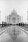 India's famous icon, the Taj Mahal, built in 1631 by Emperor Shah Jahan.for his belated and beloved wife, Mumtaz Mahal. Mumtaz died while giving.birth to their 14th child. Over 20,000 workers and artisans worked on the Taj Mahal. It took them more than 20 years to complete this memorial, now a.World Heritage Site. Not long after completing the Taj, Shah Jahan was overthrown by his son Aurangzeb and imprisoned at the Agra Fort. The last years of his life were spent watching the Taj Mahal from a window..