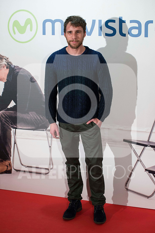 """Bernabe Fernandez attends to the premire of the film """"Que fue de Jorge Sanz"""" at Cinesa Proyecciones in Madrid. February 10, 2016."""