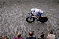 Ethan Hayter (GBR/Ineos Grenadiers)<br /> <br /> 88th UCI Road World Championships 2021 – ITT (WC)<br /> Men's Elite Time trial from Knokke-Heist to Brugge (43.3km)<br /> <br /> ©Kramon