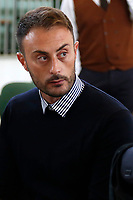 Francesco Tedesco, the carabineer that denounced the violence on Stefano Cucchi by his colleagues Alessio Di Bernardo e Raffaele D'Alessandro<br /> Rome October 29th 2019. Process 'Cucchi bis'. Stefano Cucchi, a 30 years old man, was arrested on October 15 2009 for drug possession, and after being convicted in Regina Coeli jail for few days, he was transferred to Sandro Pertini hospital, where he died on October 22 2009 due to be strongly beaten. On his body were found many signs of abuse and violence. The defendants are 5 carabineers. <br /> Foto  Samantha Zucchi Insidefoto