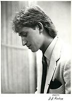 Wayne Gretzky le 8 juin 1981<br /> .<br /> <br /> <br /> PHOTO :  Agence Quebec Presse