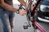 post-stage activities<br /> <br /> Stage 8: Mâcon to Saint-Étienne(200km)<br /> 106th Tour de France 2019 (2.UWT)<br /> <br /> ©kramon