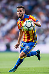 Jose Luis Gaya Pena of Valencia CF in action during their La Liga 2017-18 match between Real Madrid and Valencia CF at the Estadio Santiago Bernabeu on 27 August 2017 in Madrid, Spain. Photo by Diego Gonzalez / Power Sport Images