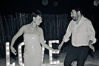 Tulum, Mexico, A'Kin Beachclub: Katherine + Pato