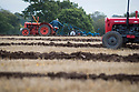 04/10/17<br /> <br /> Tractors drivers compete to plough the straightest furrows at the 112th annual Brailsford Ploughing Match, near Ashbourne, Derbyshire.<br /> <br /> All Rights Reserved F Stop Press Ltd. (0)1773 550665 www.fstoppress.com
