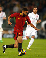 Roma's Gregoire Defrel in action during the Serie A football match between Roma and Bologna at Rome's Olympic stadium, October 28, 2017.<br /> UPDATE IMAGES PRESS/Riccardo De Luca