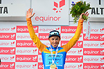 Sergei Chernetski Astana Pro Team wins the overall general classification at the end of Stage 4 of the 2018 Artic Race of Norway, running 145.5km from Kvalsund to Alta, Norway. 18th August 2018. <br /> <br /> Picture: ASO/Gautier Demouveaux | Cyclefile<br /> All photos usage must carry mandatory copyright credit (© Cyclefile | ASO/Gautier Demouveaux)