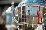 2  April, 2011:  The Carolina Cup trophy glistens in the sun.