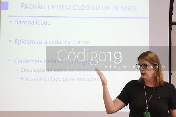 CAMPINAS, SP 26.03.2019-SAUDE-Campinas já superou, nos três primeiros meses deste ano, o total de casos confirmados de dengue de 2018. Segundo o boletim Epidemiológico Arboviroses do Departamento de Vigilância em Saúde (Devisa) publicado ontem (25), são 556 casos confirmados. Nos 12 meses do ano passado foram 301 registros. Ainda há outros 1.390 casos sob investigação. <br /> O maior número de casos atinge a região Noroeste de Campinas, onde ficam os bairros do distrito do Campo Grande. Segundo o boletim, lá foram confirmados 216 casos e outros 343 estão sob investigação. (Foto: Denny Cesare/Codigo19)