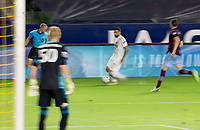 CARSON, CA - SEPTEMBER 19: Sebastian Lletget #17 of the Los Angeles Galaxy moves with the ball during a game between Colorado Rapids and Los Angeles Galaxy at Dignity Heath Sports Park on September 19, 2020 in Carson, California.