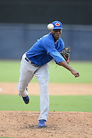 Toronto Blue Jays pitcher Carlos Ramirez (81) during an Instructional League game against the New York Yankees on September 24, 2014 at George M. Steinbrenner Field in Tampa, Florida.  (Mike Janes/Four Seam Images)