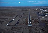 KPUB Pueblo Airport at dusk