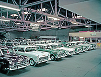 Bryner Chevrolet Indoor Used Car Showroom from 1959. PA.