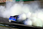 #78: Martin Truex Jr., Furniture Row Racing, Toyota Camry Auto-Owners Insurance celebrates his win with a burnout