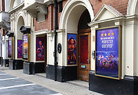 The musical Six, in which Henry VIII's wives return from the dead to give a pop concert will  become the first musical to reopen in the West End since lockdown. The show has now moved temporarily to the bigger Lyric theatre in Shaftesbury Avenue for a socially distanced 11-week run. September 16th 2020<br /> <br /> Photo by Keith Mayhew