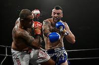 King in the Ring - Cruiserweight Super Fight Pati ' The Arsenal ' Afoa v Zane ' Hybrid ' Hopman at Te Rauparaha Arena, Porirua, New Zealand on Friday 19 June 2015.<br /> Photo by Masanori Udagawa. <br /> www.photowellington.photoshelter.com.