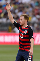 East Hartford, CT - Saturday July 01, 2017: Dax McCarty during an international friendly match between the men's national teams of the United States (USA) and Ghana (GHA) at Pratt & Whitney Stadium at Rentschler Field.