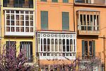 Hausfassade, Palma de Mallorca