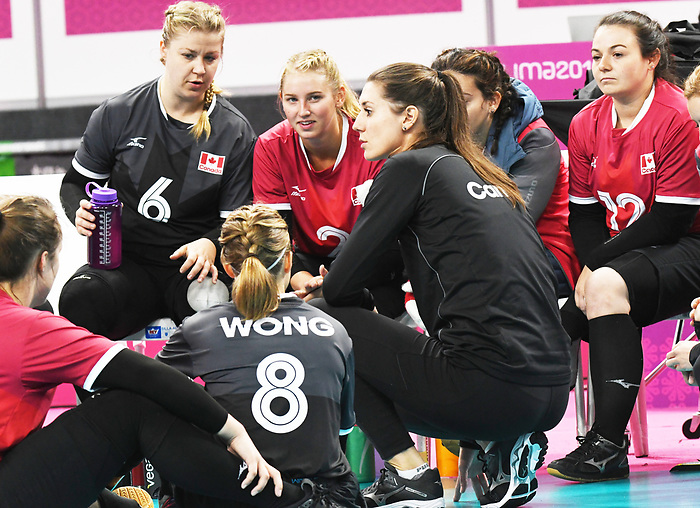 Nicole Ban, Lima 2019 - Sitting Volleyball // Volleyball assis.<br />