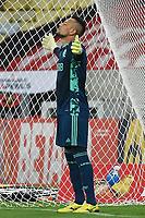Rio de Janeiro (RJ), 15/04/2021 - Flamengo-Vasco - Diego Alves do Flamengo,durante partida contra o Vasco,válida pela 9ª rodada da Taça Guanabara,realizada no Estádio Jornalista Mário Filho (Maracanã), na zona norte do Rio de Janeiro, nesta quinta-feira (15).