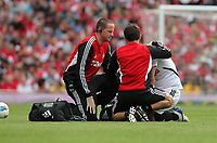 Pictured: Danny Graham of Swansea City. Saturday 10 September 2011<br /> Re: Premiership Arsenal v Swansea City FC at the Emirates Stadium, London.