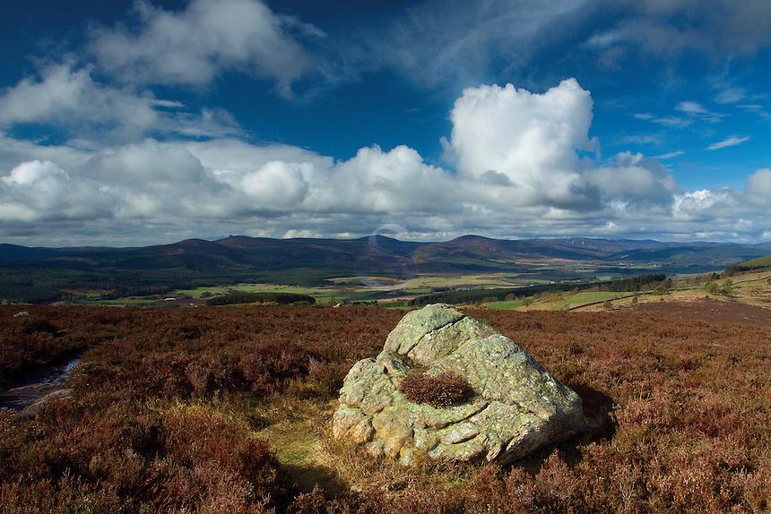 Clachnaben from Scolty Hill, Banchory, Aberdeenshire