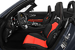 Front seat view of a 2019 Mercedes Benz AMG GT base 2 Door Roadster front seat car photos