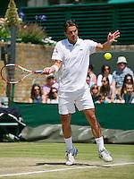 England, London, 28.06.2014. Tennis, Wimbledon, AELTC,   Jesse Huta Galung (NED)<br /> Photo: Tennisimages/Henk Koster