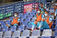 MONTERIA -COLOMBIA, 25-09-2020: Jaguares de Córdoba  y La Equidad en partido por la fecha 10 de la Liga BetPlay DIMAYOR I 2020 jugado en el estadio Jaraguay Municipal de la ciudad de Montería. / Jaguares of Cordoba and La Equidad in match for the date 10 BetPlay DIMAYOR League I 2020 played at Jaraguay Municipal stadium in Monteria city: VizzorImage/ Andrés Felipe López / Contribuidor