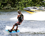 September 13, 2014:  Scenes from the WWA Wakeboard World Championships at Mills Pond Park in Fort Lauderdale, FL.  Men's  Professional Wakeboarder Daniel Powers USA. Liz Lamont/ESW/CSM