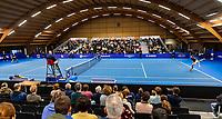 Alphen aan den Rijn, Netherlands, December 22, 2019, TV Nieuwe Sloot,  NK Tennis, Final men single: Overall vieuw<br /> Photo: www.tennisimages.com/Henk Koster