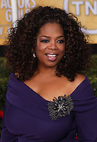 LOS ANGELES, CA - JANUARY 18: Oprah Winfrey at the 20th Annual Screen Actors Guild Awards held at The Shrine Auditorium on January 18, 2014 in Los Angeles, California. (Photo by Xavier Collin/Celebrity Monitor)
