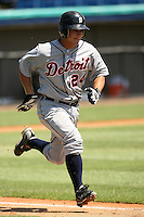 September 24, 2009:  Second Baseman Chris Sedon of the Detroit Tigers organization during an Instructional League game at Space Coast Stadium in Viera, FL.  Sedon was selected in the 10th round of the 2009 MLB Draft out of Pittsburgh.  Photo by:  David Stoner/Four Seam Images