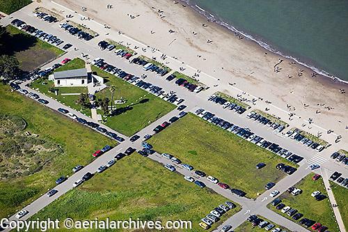aerial photograph Crissy Field San Francisco California