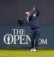 170719 | The 148th Open - Wednesday Practice<br /> <br /> Marc Leishman of Australia on the 1st during practice for the 148th Open Championship at Royal Portrush Golf Club, County Antrim, Northern Ireland. Photo by John Dickson - DICKSONDIGITAL