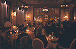 New Years Eve dinner at the Ritz Hotel London England. 1986.