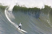 Tim West. Mavericks Surf Contest in Half Moon Bay, California on February 13th, 2010.