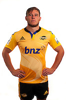 Jason Woodward. Hurricanes Super Rugby official headshots at Rugby League Park, Wellington, New Zealand on Tuesday, 13 January 2015. Photo: Dave Lintott / lintottphoto.co.nz