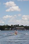 Rowing, United States Men's Pair, Deaglen McEachern, Ryan Monaghan, stroke, 2010 FISA World Rowing Championships, Lake Karapiro, Hamilton, New Zealand, Monday 1 November, heat,