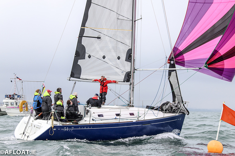 DBSC held 350 Saturday yacht races in 2021 on Dublin Bay for over 20 classes including the Beneteau 31.7s pictured above